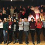 Celjska božična pesem popestrila praznike Slovencem v nemški prestolnici