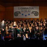 Dobrodelni božično-novoletni koncert I. gimnazije v Celju (foto, video)