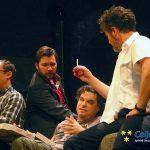 SLG Celje vstopilo v pester december s premiero komedije Moški brlog (foto, video)