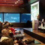 V Ljubljani 200 slušateljev simpozija o vlogi Alme Karlin kot pisateljice