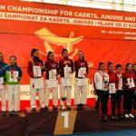 Srebrni medalji na balkanskem prvenstvu