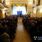 Glasbena šola Celje pričarala praznično vzdušje z novoletnim koncertom Mladinskega simfoničnega orkestra (foto, video)