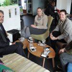 Celjski mladinski center obiskal brazilski veleposlanik