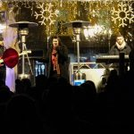 Slovesni prižig prazničnih luči v Celju in koncert Maje Založnik s skupino (foto, video)