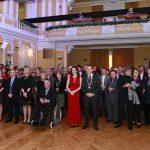 Tradicionalni novoletni sprejem najvidnejših predstavnikov Celja (foto)
