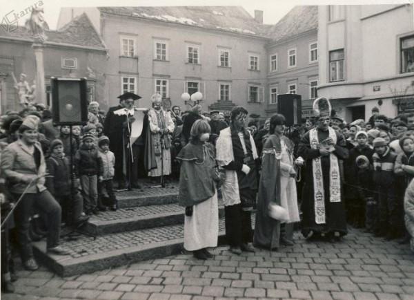 Pustovanje leta 1983, foto: Srečko Mastnak.