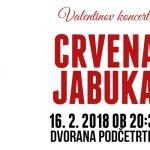 Vabimo na Valentinov koncert največjih uspešnic skupine Crvena Jabuka v Podčetrtek – vstopnice pol ceneje