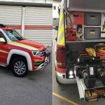 Celjski gasilci okrepljeni z novim vozilom