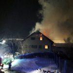 Neuspešno oživljanje, dva požara s hudimi posledicami (foto, video)