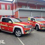 Celjski poklicni gasilci s še drugim novim vozilom (foto)