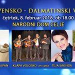 Vabimo na slovensko-dalmatinski večer v Celje – vstopnice pol ceneje