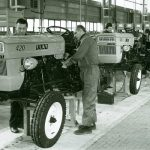 """40 let """"rojstva"""" prvega slovenskega traktorja, ki so ga izdelali v Štorah"""