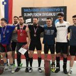 Celjan do treh rekordov na državnem prvenstvu v dviganju uteži