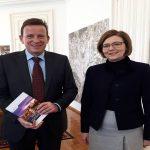 Madžarska veleposlanica na vljudnostnem obisku v Celju