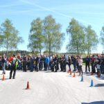 Izjemna udeležba na preventivni delavnici za večjo varnost motoristov