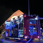 Našli mrtvo osebo, množična intervancija pri požaru (video)