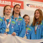 Celjanke evropske mladinske prvakinje