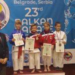 Celje z balkansko podprvakinjo v karateju