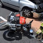 Trčenja z motoristi, reševanje iz dvigala
