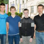 3 kajuhovci na Mednarodno matematično olimpijado