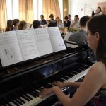 Pesmarica mlade celjske ustvarjalke zaživela v praksi