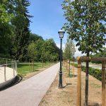 Sprehajalna pot v Mestnem parku Celje je dobila končno podobo