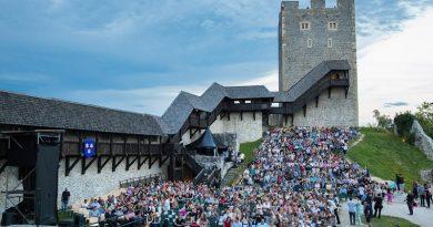 Celje je poleti gostilo Festival Celjski grad.