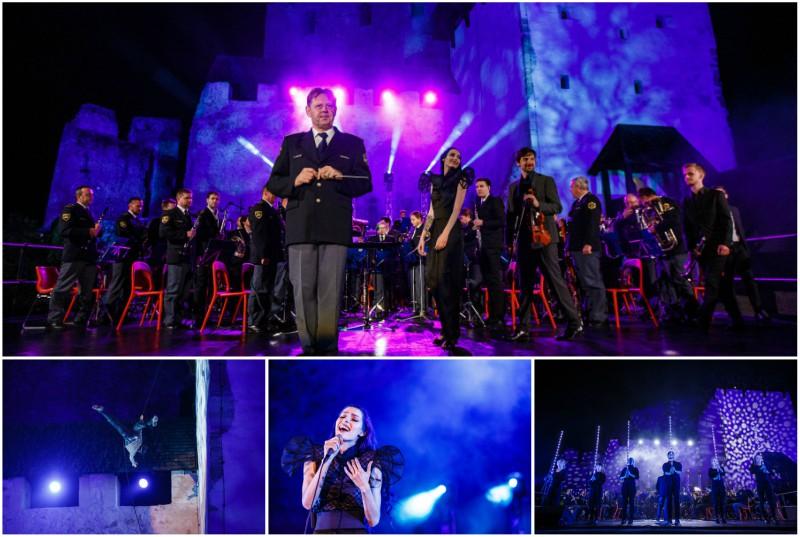 Večer filmske glasbe na Starem gradu Celje (foto: FB Festival Celjski grad).