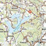 Zaradi zapore obvoz okoli celotnega Šmartinskega jezera