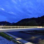 Splavarska brv predstavljena v Nemčiji in Švici, projekt visečega mostu se nadaljuje
