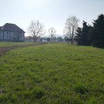 Parkovne površine pri dvorcu Lanovž zaenkrat ne bodo zamenjane s poplavnimi v Medlogu