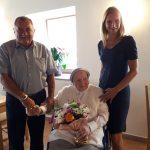 106 let najstarejše Celjanke, ki še vedno obvlada ročne spretnosti