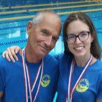 Neptunovca z veteranskega prvenstva Hrvaške prinesla pol ducata medalj