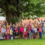 Tudi letos veliko otrok v počitniškem varstvu na I. osnovni šoli Celje