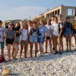 Mladi iz Ščjolkova v Baški in Celju