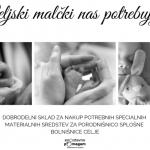 Zbirajo sredstva za celjsko porodnišnico
