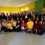 Dijaki in profesorji Gimnazije Lave so vdihnili življenje irskim legendam (foto, video)