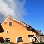 Požar pri Konjicah krotili pripadniki 5 gasilskih društev (foto)