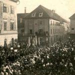 Stoletnica dviga slovenske narodne zastave v Celju