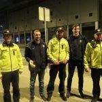 Malo kršiteljev včerajšnje akcije Vozi 0,00. V Celju s policijsko patruljo tudi celjska rokometaša (foto)
