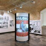 V Muzeju novejše zgodovine Celje odprli razstavo o borcu za severno mejo Franju Malgaju, ki jo spremlja tudi strip (foto)
