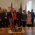 Ustavni sodniki iz Avstrije in Slovenije na obisku v Celju