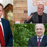 Kako rezultate volitev komentirajo kandidati, ki so se v tekmi za celjskega župana povzpeli na stopničke