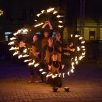 Pravljično Celje 2018: ognjeni spektakel skupine Anke Piromanke (video)