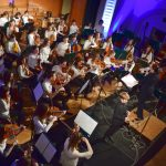 Glasbena šola Celje pričarala praznično vzdušje v Celjskem domu (foto, video)