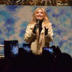 Slovesni prižig prazničnih luči v Celju in koncert Helene Blagne (foto, video)