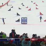 Tim Mastnak slavil na prvi tekmi sezone svetovnega pokala v deskanju na snegu