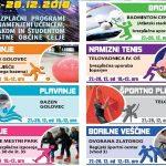 Tudi letos v Celju brezplačne športne aktivnosti v času novoletnih počitnic – program