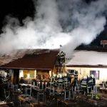 Požar na Mašinžagi na Rogli (foto) (dopolnjeno)
