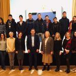 Celje obiskali dijaki in profesorji iz Dubrovnika